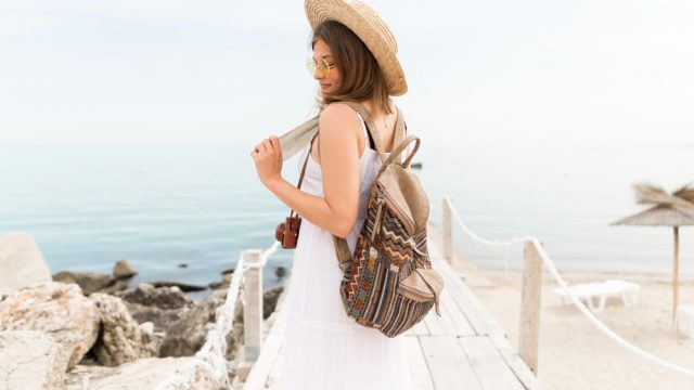 Girl Going Traveling - Tips To Move On From A Breakup With A Sagittarius Man