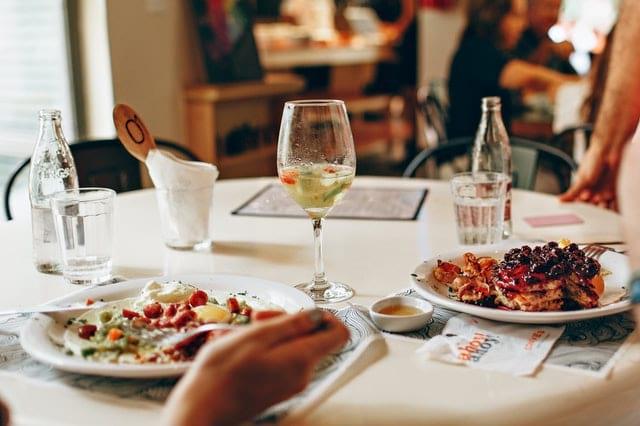 Dinner With Sagittarius Man In Fancy Restaurant